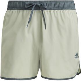 adidas Split CLX Shorts Men, halo green/blue oxide